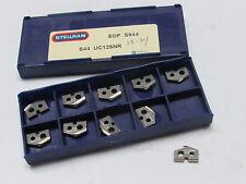10 new STELLRAM S44 UC125NR S944 Carbide Unidrill Spade Drill Inserts