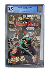 CGC 3.5 - Superman's Pal Jimmy Olsen #134 DC Comics 1970 Kirby 1ST APP. DARKSEID