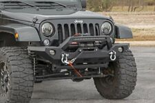 Jeep Full Width Front LED Winch Bumper (2018> Wrangler JL) 10596 Rough Country