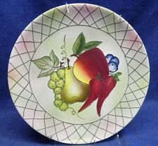 "Pacific Rim China ""Vegetables and Fruit"" Dinner Plate -11"""