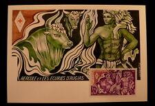 MONACO PREMIER JOUR FDC YVERT  1388    CROIX ROUGE - HERCULE    3,50+0,50F  1983
