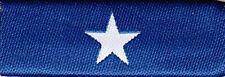 Bonnie Blue Flag Chest Ribbon