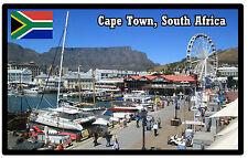 CAPE TOWN, SOUTH AFRICA - SOUVENIR JUMBO FRIDGE MAGNET - NEW - GIFT / PRESENT