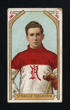 1911-12 C55 IMPERIAL TOBACCO ~ #24 ~ SPRAGUE CLEGHORN ~ ROOKIE CARD ~ HOF