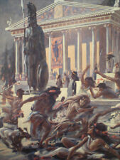 ROY KRENKEL Portfolio, SEVEN WONDERS of ANCIENT WORLD