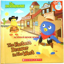 BACKYARDIGANS ~FASTEST DRAWER IN THE WEST~ PLAY-TO-LEARN STORYBOOK
