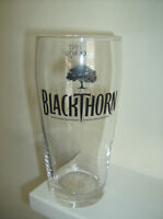 Job Lot of 2 x Blackthorn Cider Pint Glasses. ' Xmas Clearance Sale '.