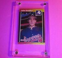 1989 Donruss #642 John SMOLTZ Rookie Error Baseball (No period after inc) MINT