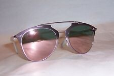 NEW CHRISTIAN DIOR REFLECTED/S M2Q-0J PINK/ROSE GOLD MIRROR SUNGLASSES AUTHENTIC