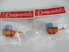 """Bastel- und Dekomaterial """"Puppenwagen"""" 2er Set"""