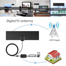 HD Digital TV Antenna DVB-T/DVB-T2 HDTV Television Antenne With Coaxial Cable~cb