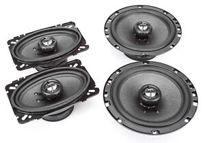 "NEW SKAR AUDIO 6.5""/4""X6"" COMPLETE SPEAKER PKG FOR 1993-1996 PONTIAC TRANSSPORT"