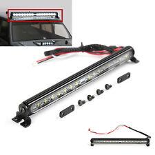 32 LED Roof Metal Light Bar Lamp 4.8V~7.2V for Traxxas Trx-4 1/10 RC Car Crawler