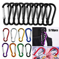 Equipment Buckle Keychain Camping Hiking Hook Alloy Carabiner Climbing Buckles