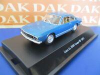 Die cast 1/43 Modellino Auto Lancia 2000 Coupè HF 1971 blue vincennes Starline