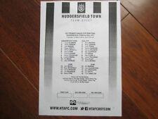 Huddersfield Town Home Teams F-K Final Football Programmes