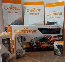Anki Overdrive Starter Kit + 3 Tracks + 2 Trucks + Car Bundle ~ NEW Set