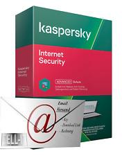 Kaspersky Internet Security 2021 • 1 PC • 1 Jahr • E-Mail Versand • Kein Abo !