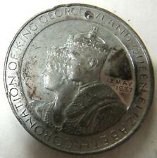 RARE, VINTAGE COIN / MEDAL - GEORGE VI & QUEEN ELIZABETH CORONATION COIN, 1937