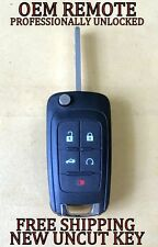 100% OEM GM CHEVY MALIBU IMPALA SONIC FLIP KEY KEYLESS ENTRY REMOTE FOB 13575178