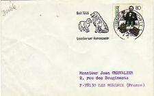 Z372 enveloppe thème Chien oblitération  seit 1846 Leonberger Hundezucht