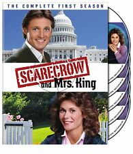Scarecrow and Mrs. King ~ Complete 1st First Season 1 One ~ NEW 5-DISC DVD SET