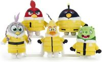 ANGRY BIRDS 2 EAGLE ISLAND PLUSH SOFT TOY WITH YELLOW COAT  24CM - CHOICE OF 5