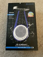 New in Box BlueFlame BF4083 Slingshot Water Resistant Bluetooth Wireless Speaker