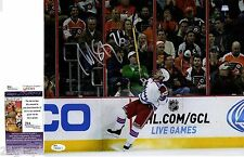 Martin St. Louis Signed 11x14 Photo w/ JSA COA #M93349 New York Rangers NY