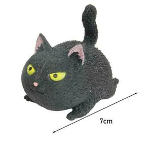 Cat Squeeze Vent Toy Funny Decompression Gift Stress Relief Soft Anti Stress Cat