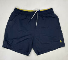 New listing Polo Ralph Lauren Swim Board Shorts Trunks Men Adult Medium Blue Pony Nylon