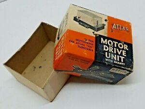 Vtg Atlas Motor Drive Unit Shanty Original Empty Box Only HO Turntable Train