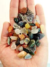 Small Tumbled Gemstones Crystals Mix 1/2 Lb Rocks Stones Chips Lot
