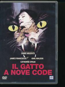 IL GATTO A NOVE CODE DVD D201010