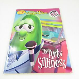 Veggie Tales The Art of Silliness Coloring Book 2006 Bob Larry - NOT COLORED IN