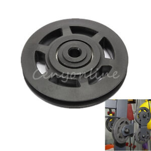 Pulley V-Belt Pulley Replacement 10x95mm Parts Universal for Fitness Equipment