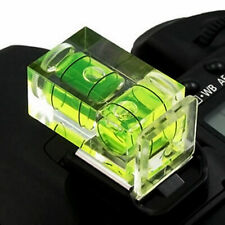 New 2 Axis Bubble Spirit Level Hot Shoe Cover cap For Camera N4G8 DSLR. E8U5