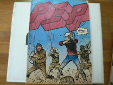 PEP COMIC 1974-5 GEWELD IN DE FILM BRONSON,EASTWOOD,LUCKY LUKE CADEAU,ARMY POSTE