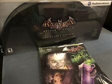 Batman Arkham Asylum - Collector's Edition PS3 - COMPLETE SET W/ Game Guide