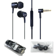GENUINE SONY MH750 IN-EAR HANDSFREE EARPHONES FOR IPHONE SAMSUNG XPERIA ZX ZA X