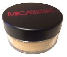 Mica Beauty Makeup Mineral Foundation Powder #MF-5 Cappuccino MicaBella 012021
