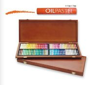 Oil Pastel for Artist Mungyo 72 Assorted Colours Wood MOP-72W Drawing Painting
