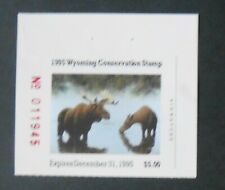 WY12 - Wyoming State Duck Stamp.  Single.  MNH.OG.