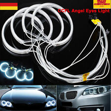 4Pcs CCFL LED Angel Eyes Ring Lights Bianco for BMW E36 E38 E39 E46 3 5 7 Series