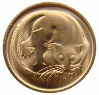 (D39) - Australien Australia - 1 Cent 1977 - Gleitbeutler - UNC - KM# 62