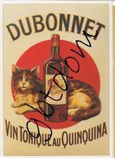 CP Pub DUBONNET - QUINQUINA - AMERICANO - William CLICHY - repro affiche