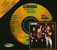 Scorpions: Virgin Killer Audio Fidelity Gold CD Limited Edition Gold Disc New