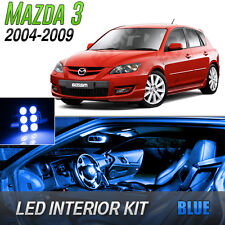 2004-2009 Mazda 3 Blue LED Lights Interior Kit MazdaSpeed 3
