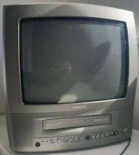 Vintage Thomson 441A 14 Pulgadas Tv/Vhs Combo Retro Gaming Camping TV trabajando