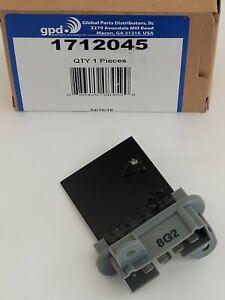 NEW Global Parts 1712045 -- 2002 Jeep TJ HVAC Blower Motor Resistor